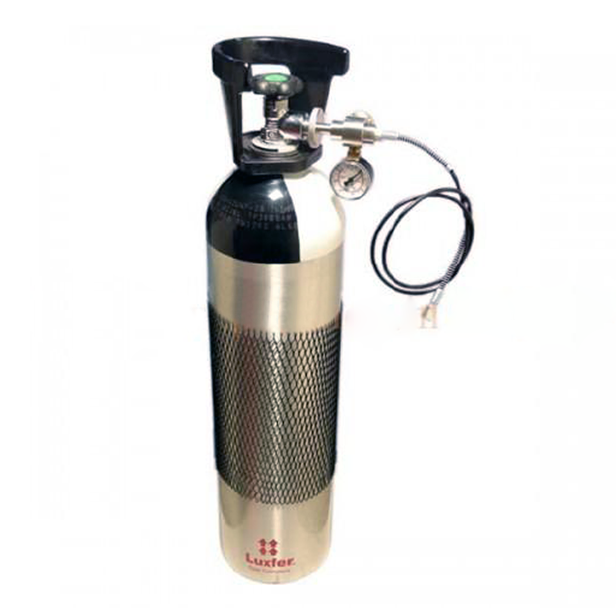 Luxfer Aluminum 10 Liters Tank WP 200 BAR with 200/300 DIN Valve with Fill Kit (The Economical Fill Station)